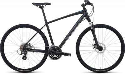 Велосипед Specialized Crosstrail Disc (XL, Black-Blue, 2014) - общий вид