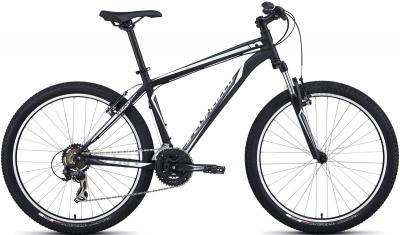 Велосипед Specialized HardRock (S/15.5, Black-White, 2014) - общий вид