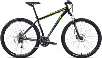 Велосипед Specialized Hardrock Sport Disc 29 (XXL, Black-Green-Cyan, 2014) - общий вид