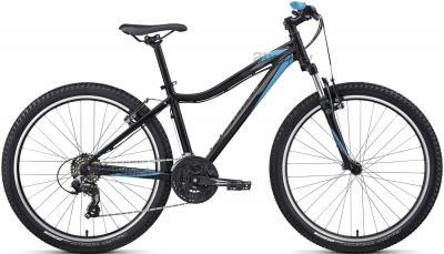 Велосипед Specialized Myka HT (M, Black-Cyan, 2014) - общий вид