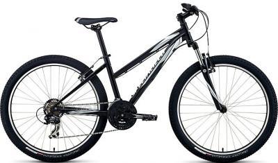Велосипед Specialized Myka HT ST (S, Black-White-Silver, 2014) - общий вид
