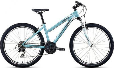Велосипед Specialized Myka HT ST (S, Light Blue-White, 2014) - общий вид
