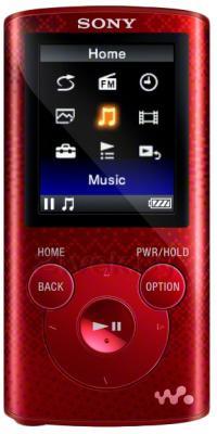 MP3-плеер Sony NWZ-E384R - общий вид