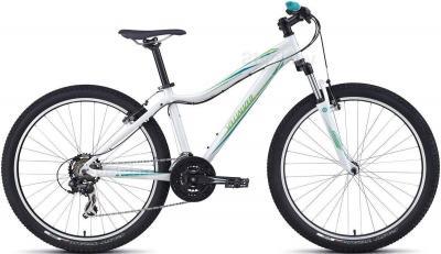 Велосипед Specialized Myka HT (S/15, White-Teal-Green, 2014) - общий вид