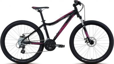 Велосипед Specialized Myka HT Disc (M/15, Black-Pink, 2014) - общий вид