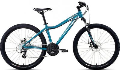 Велосипед Specialized Myka HT Disc (M, Teal-White, 2014) - общий вид