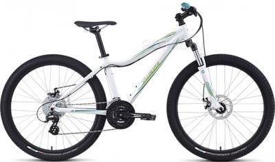 Велосипед Specialized Myka HT Disc (M/15, White-Teal-Green, 2014 ) - общий вид