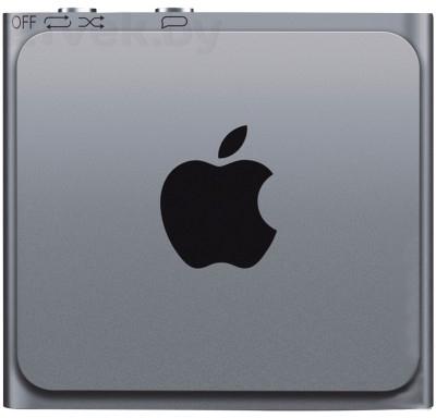 MP3-плеер Apple iPod shuffle 2GB ME949RP/A (серый) - вид сзади