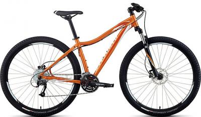 Велосипед Specialized Myka HT Sport Disc 29 (S, Orange-White, 2014) - общий вид