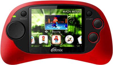 Игровая приставка Ritmix RZX-20 (красный) - общий вид
