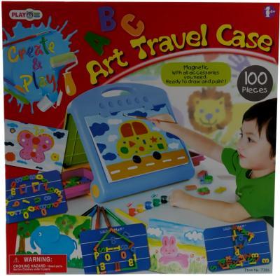 Дорожный чемоданчик PlayGo 7386 (с набором для творчества) - упаковка