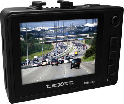 Автомобильный видеорегистратор TeXet DVR-443 - вид сзади