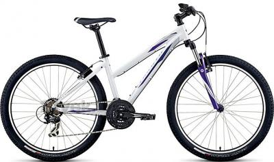 Велосипед Specialized Myka HT ST (S, White-Purple, 2014) - общий вид