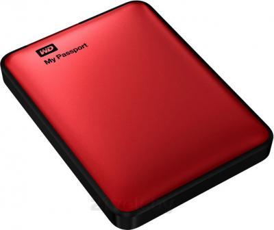 Внешний жесткий диск Western Digital My Passport 1TB Red (WDBEMM0010BRD) - общий вид