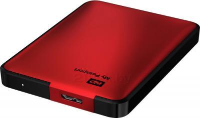 Внешний жесткий диск Western Digital My Passport 1TB Red (WDBEMM0010BRD) - разъем для подключения
