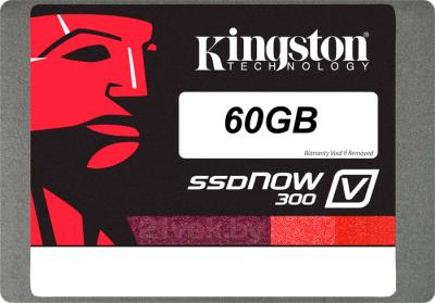 SSD диск Kingston SSDNow V300 60GB (SV300S3D7/60G) - вид сверху