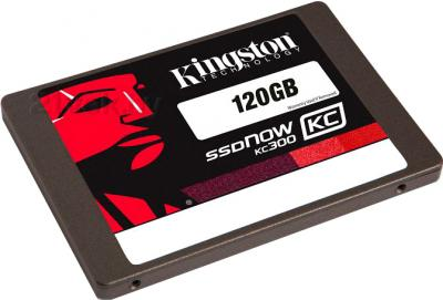 SSD диск Kingston SSDNow KC300 120GB (SKC300S37A/120G) - общий вид