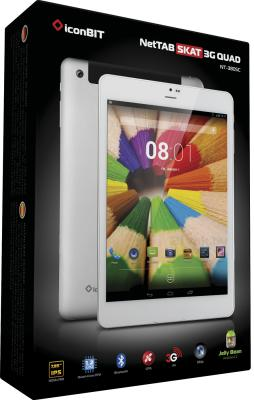 Планшет IconBIT NetTAB SKAT 3G QUAD (NT-3805C) - коробка