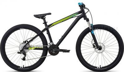 Велосипед Specialized P Street 2 (M/16, Black-Green, 2014) - общий вид
