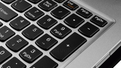 Ноутбук Lenovo U510 (59393021) - клавиатура