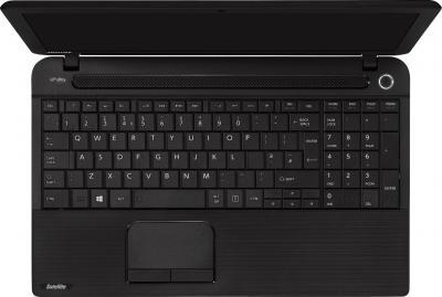 Ноутбук Toshiba Satellite C50-A-K9K - вид сверху