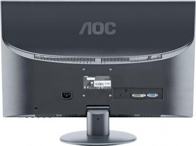 Монитор AOC E2752VA - вид сзади