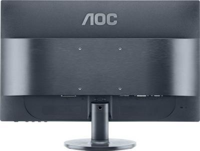 Монитор AOC e2460Shu - вид сзади