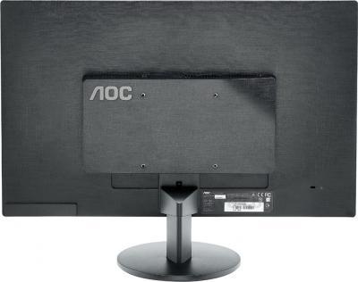 Монитор AOC E2470SWHE - вид сзади