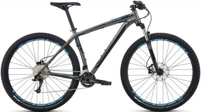 Велосипед Specialized Rockhopper Comp 29 (M, Black-Cyan, 2014) - общий вид