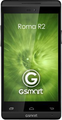 Смартфон Gigabyte GSmart Roma R2 (черный) - общий вид
