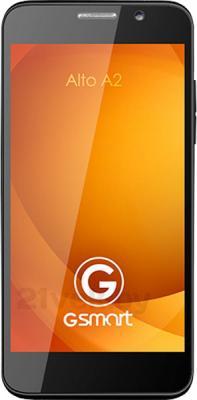 Смартфон Gigabyte GSmart Alto A2 (черно-белый) - общий вид
