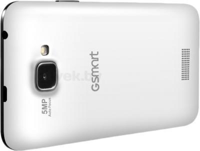 Смартфон Gigabyte GSmart Alto A2 (черно-белый) - вид сзади