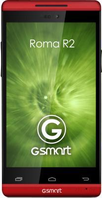 Смартфон Gigabyte GSmart Roma R2 (Red) - общий вид