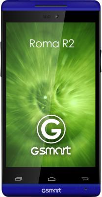 Смартфон Gigabyte GSmart Roma R2 (Blue) - передняя панель