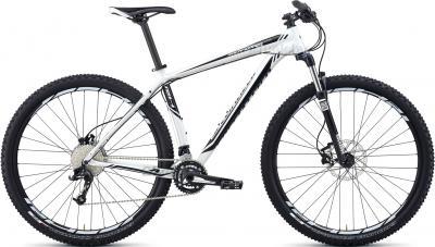 Велосипед Specialized Rockhopper Comp 29 (L, White-Black, 2014) - общий вид