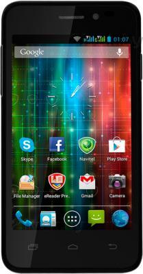 Смартфон Prestigio Multiphone 5400 Duo (черный) - общий вид