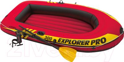 Надувная лодка Intex 58358NP Explorer Pro 300