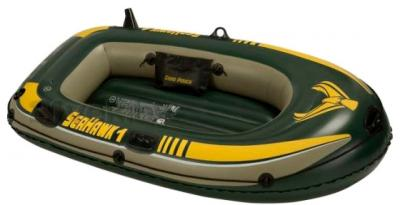 Надувная лодка Intex 68345NP Seahawk-1 Set - общий вид