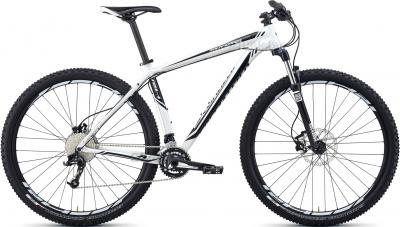 Велосипед Specialized Rockhopper Comp 29 (M, White-Black, 2014) - общий вид
