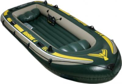 Надувная лодка Intex 68351NP Seahawk-4 Set - общий вид
