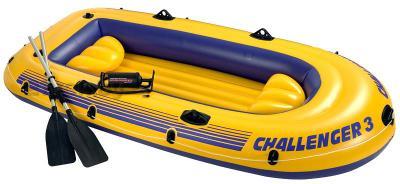 Надувная лодка Intex 68370NP Challenger-3 Set - общий вид
