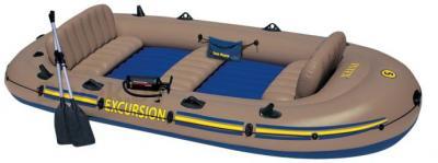 Надувная лодка Intex 68325NP Excursion-5 - общий вид