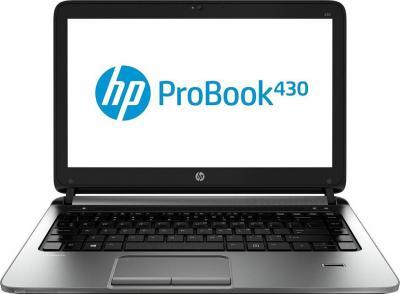 Ноутбук HP ProBook 430 G1 (F0X34EA) - фронтальный вид