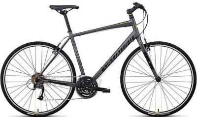 Велосипед Specialized Sirrus Sport (M, Black-Green, 2014) - общий вид