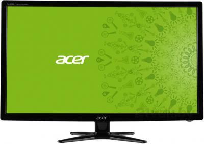 Монитор Acer G246HLABD - фронтальный вид