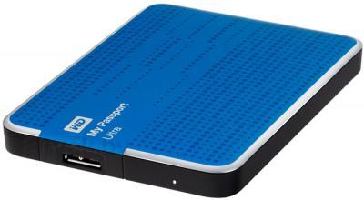 Внешний жесткий диск Western Digital My Passport Ultra 500GB Blue (WDBLNP5000ABL) - общий вид