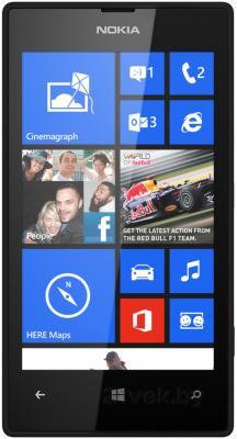 Смартфон Nokia Lumia 520 (Black) - общий вид