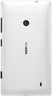 Смартфон Nokia Lumia 520 (White) - задняя панель