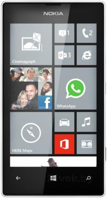 Смартфон Nokia Lumia 520 (White) - общий вид