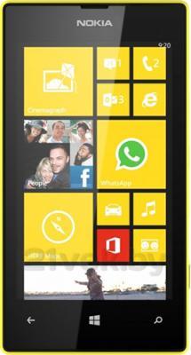 Смартфон Nokia Lumia 520 (Yellow) - общий вид